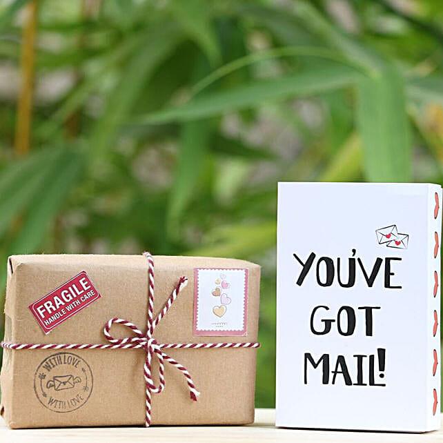 Message Of Love Box: Karwa Chauth Gift Hampers
