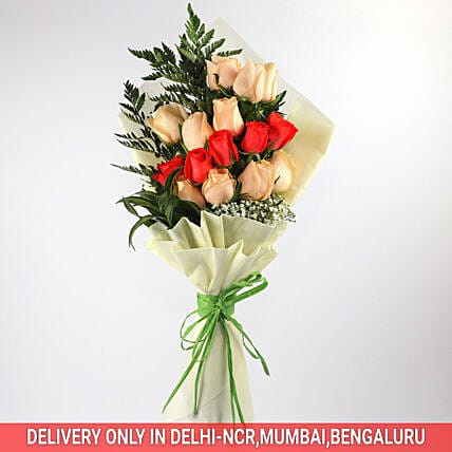 Spellbinding Bouquet Of Roses: