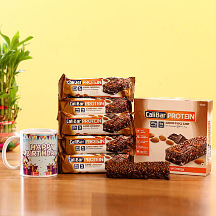 Nutritious Protein Bars- Almond Choco Chip: Gifts for New Arrival