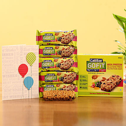 Nutritious Protein Bars- Berry Almond Crisp: Send Gifts to Anantnag