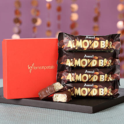 Amul Almond Bars Box: Gifts for Dhanteras