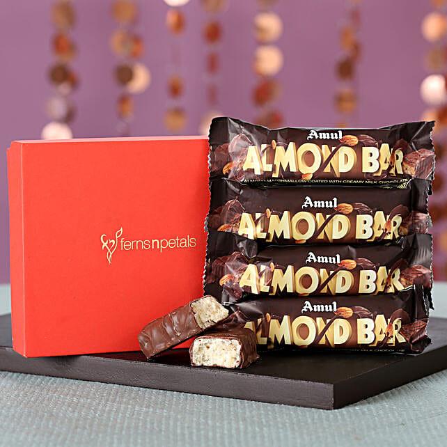 Amul Almond Bars Box: