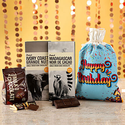 Delicious Amul Chocolates For Birthday: Gifts to Shimoga