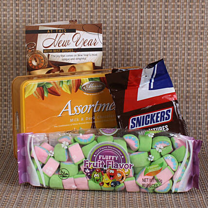 Marshmallow & Chocolate New Year Combo: Boss Day Gifts