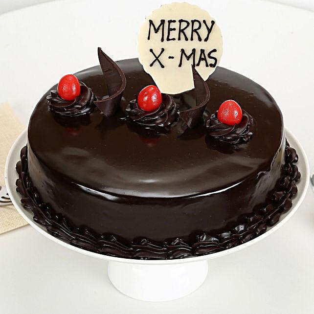 Xmas Truffle Cake: Christmas Gifts for Men