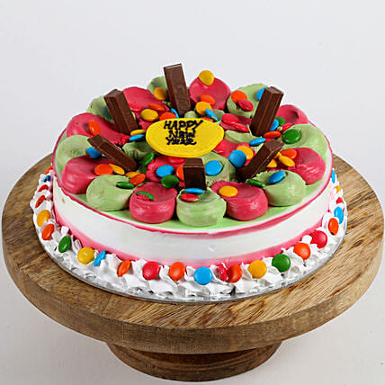 Colourful New Year Cake: Gifts to Sitapur