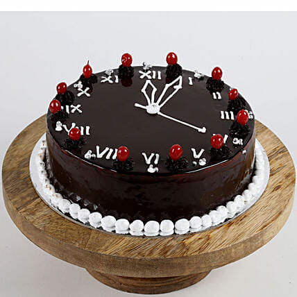 New Year Clock Cake: Send Gifts to Sitapur