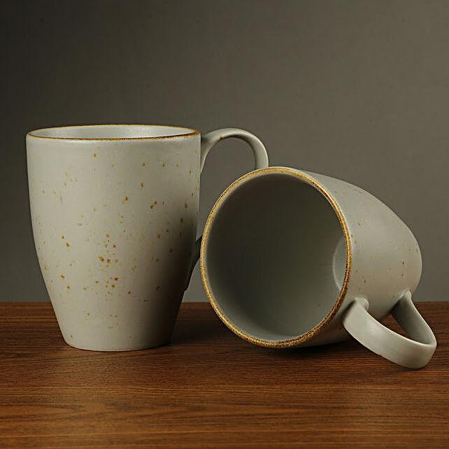 Dusted Matte Grey Coffee Mug: Coffee Mugs