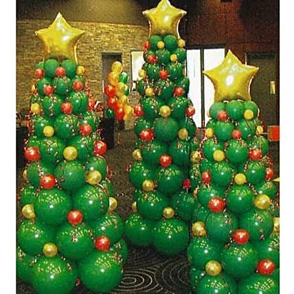 Christmas house decor: Send Christmas Trees