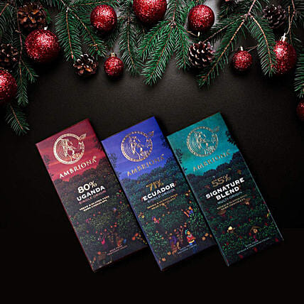 Ambriona Dark Chocolate Bars Pack: