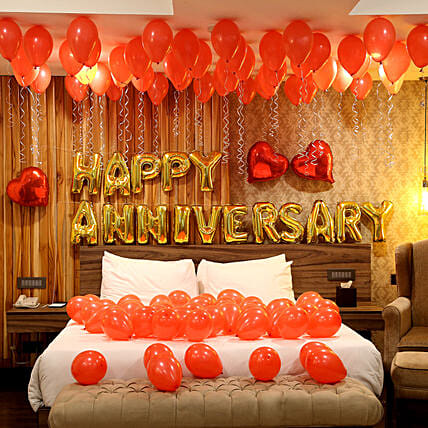 Grand Anniversary Celebration: Room Decorations