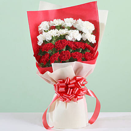 Carnations Love Bouquet: Flower Bouquets