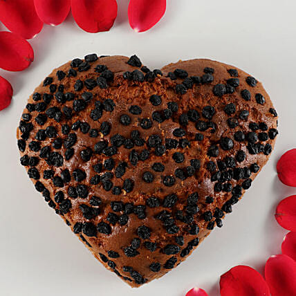 Vanilla Black Currant Dry Cake- 500 gms: Heart Shaped Gifts