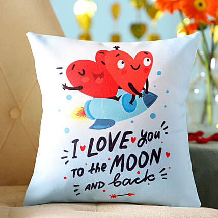 Hearts In Love Cushion: Cushions