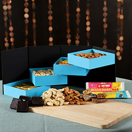 Chocolaty Treats With Dry Fruits: Gift Delivery in Pithoragarh