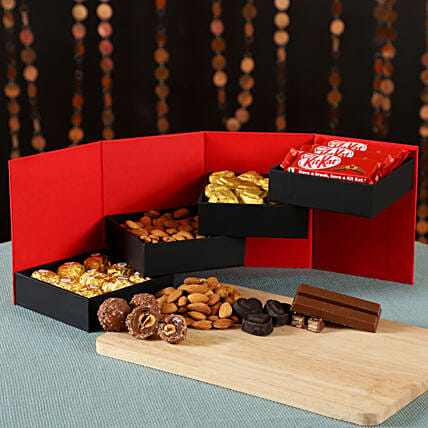 Delightful Chocolates & Dry Fruits: Homemade Chocolate Gifts