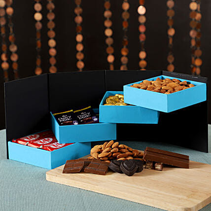 Box of Delicious Chocolates: Dry Fruits Gift Packs