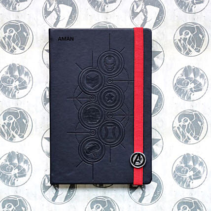 Avengers Icon Personalised Diary: Personalised Stationery