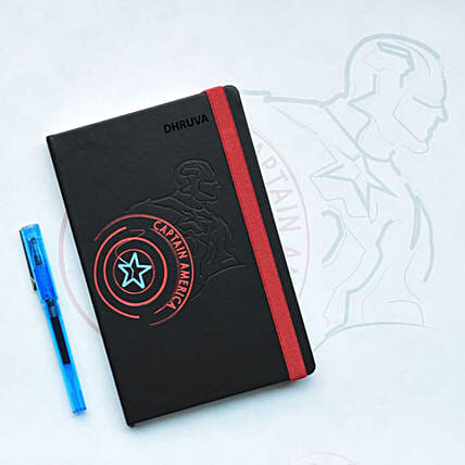 Black Avengers Personalised Diary: Personalised Stationery