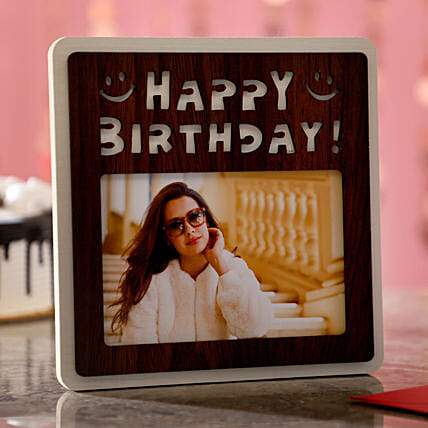 Birthday Wishes For Her Photo Frame: Personalised Photo Frames