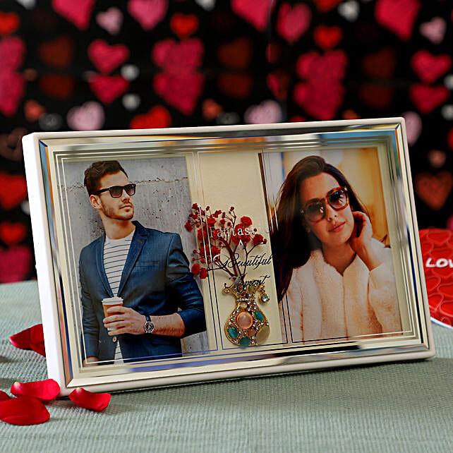 Couple Photo Frame: Valentine Personalised Photo Frames