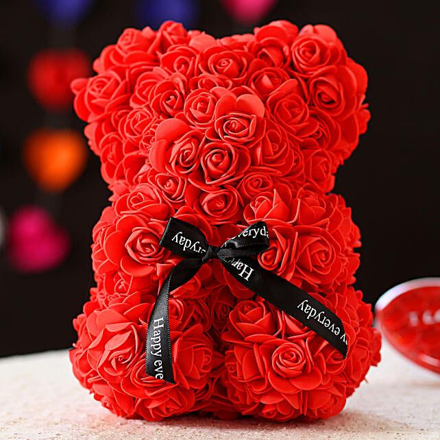 Foam Teddy Bear- Red: Gift Ideas