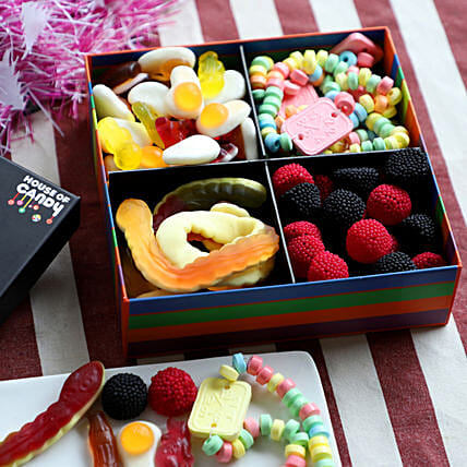 Delicious Candy Box- 400 gms: Gifts to Rupnagar
