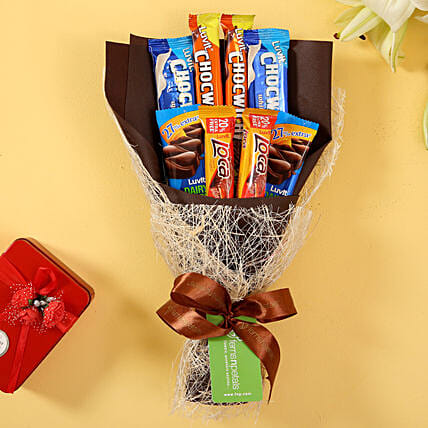 LuvIt Chocolaty Bouquet: Gifts To Mundhwa