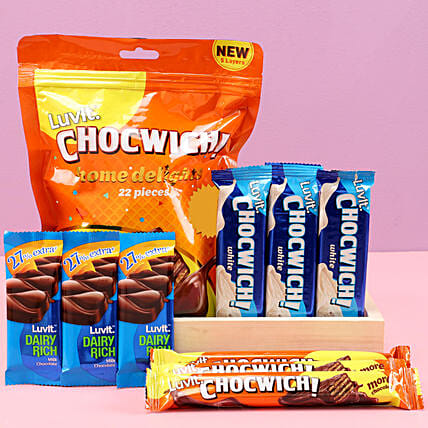 LuvIt Chocwich Treat: Send Good Luck Gifts