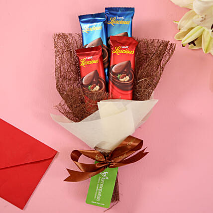 LuvIt Luscious Chocolicious Delight: Send Good Luck Gifts