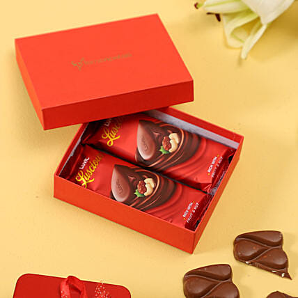 Red Box Of LuvIt Chocolates: Gifts to Kempapura Bangalore