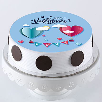 Hearts In Love Photo Cake: Valentines Day Gifts for Boyfriend