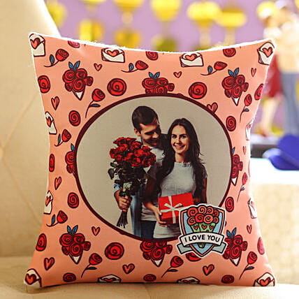 Cute Personalised Cushion: Personalised Cushions for Valentine