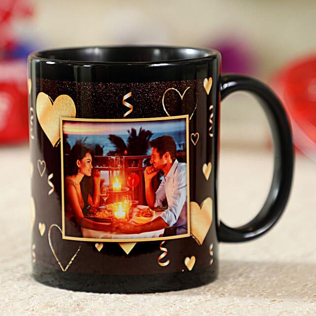 Gorgeous Black Personalised Mug: Coffee Mugs