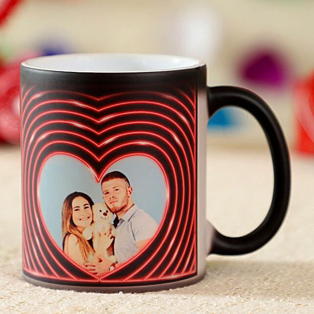 Romantic Personalised Magic Mug: New Arrival Personalised Gifts