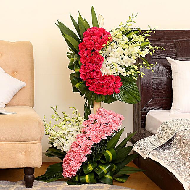 Hues Of Flowers: Flower Basket