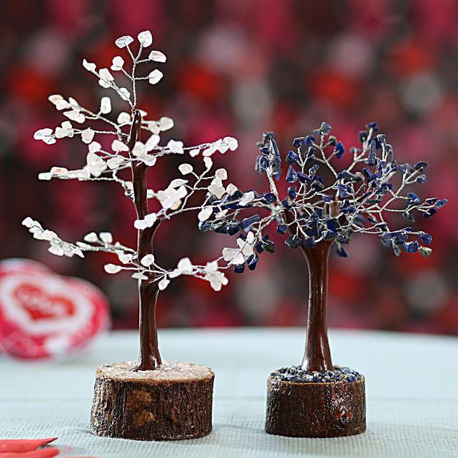 Rose Quartz & Blue Lapis Lazuili Wish Tree: Gift Ideas