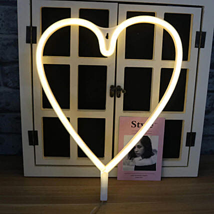 Heart Shaped Light String: Funny Gifts