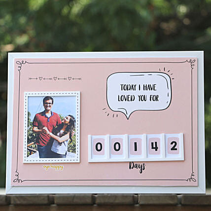 Personalised Love Tracker: Funny Gifts