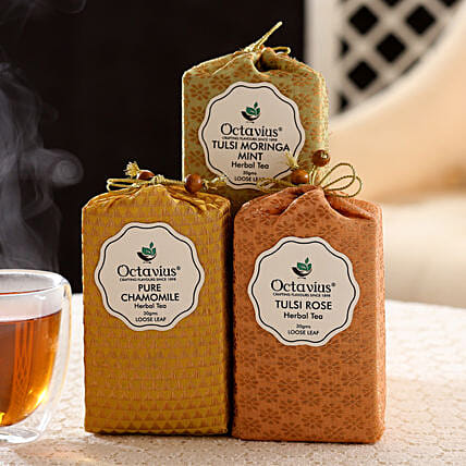 Whole Leaf Tisane Tea: Doctors Day Gift Hampers