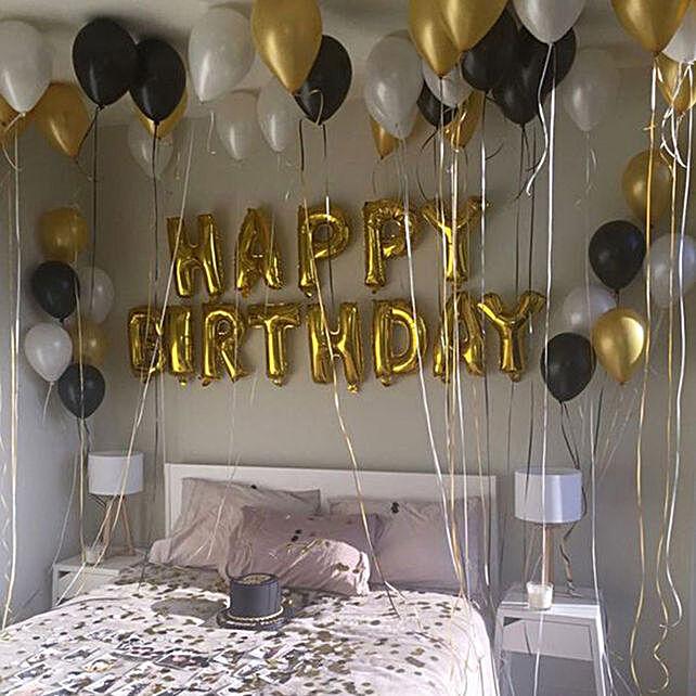 Birthday Surprise: Balloons Decorations
