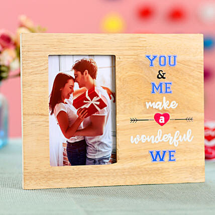 You & Me Personalised Photo Frame: Personalised Photo Frames
