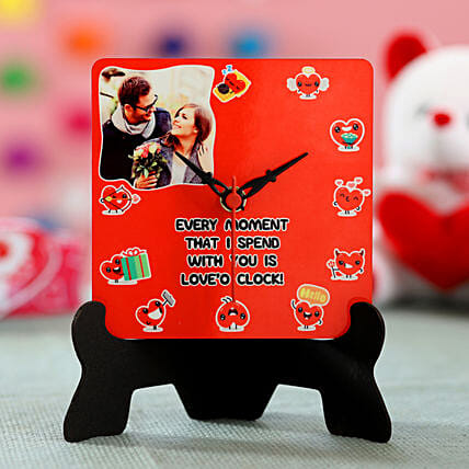 Personalised Love-o-Clock: Propose Day Gifts
