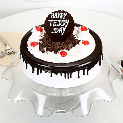 Teddy Day Black Forest Cake: Black Forest Cakes