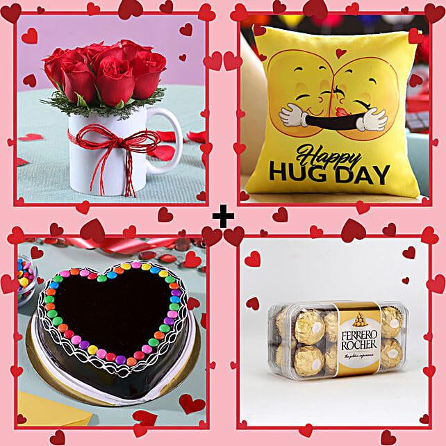 Magical Gift Combo For Hug Day: Gifts for Hug Day