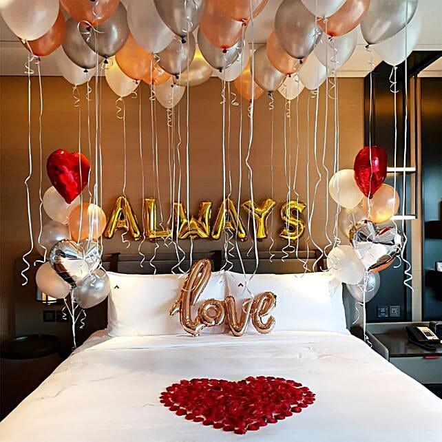 Love Forever Romantic Decor: Valentine's Day Room Decor