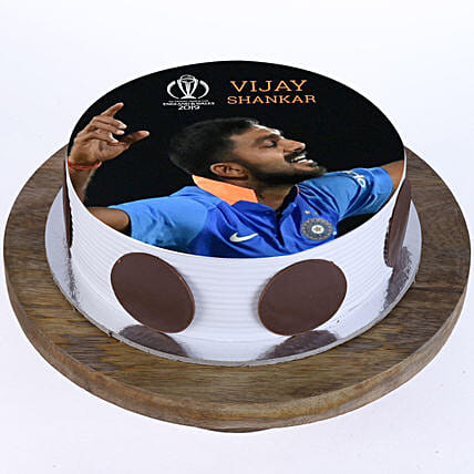 Vijay Shankar Photo Cake: