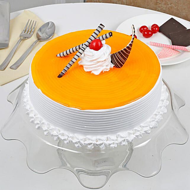 Yummy Mango Cream Cake: Easter