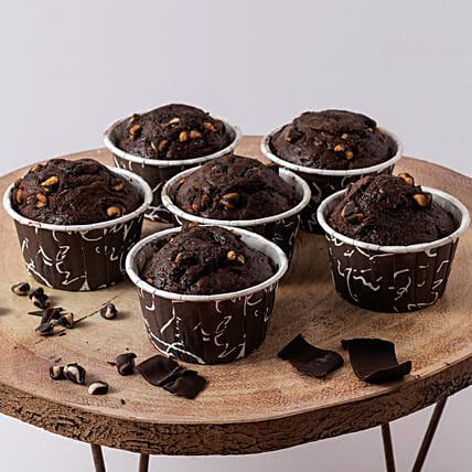 Yummy Oreo Chocolate Muffin- 500 gms: Dry cakes