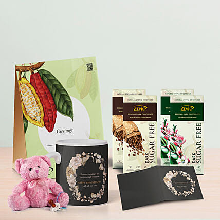 Zevic Assorted Chocolates Birthday Hamper: Gift Hampers